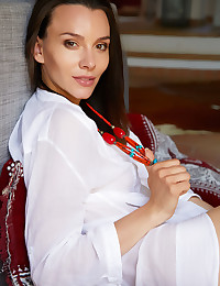 Adel Morel nude in glamour BOYFRIEND'S TEE gallery - MetArt.com