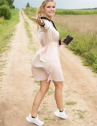 Yelena nude in erotic NATURE WALK gallery