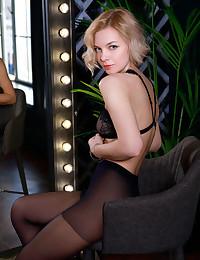 Hilary Wind nude in erotic NYLONS gallery - MetArt.com