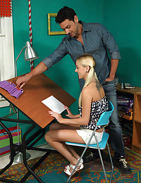 HOME TUTOR with Roxxi Silver, Ryan Driller - ALS Scan