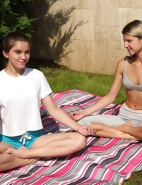 HANDS ON INSTRUCTION with Evelina Darling, Gina Gerson - ALS Scan