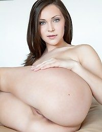 Chic and fancy vixen with superb body, bloated bra-stuffers and alluring face.