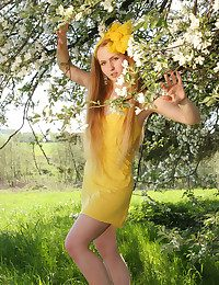 Startling Teenager in Yellow