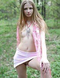 Teenage gal take rosy