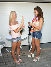 GARAGE SALE with Emma Brown, Kiara Lord - ALS Scan